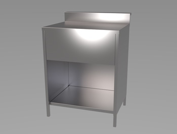 Bar Solid Top Unit