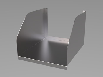 Medium Duty Microwave Shelf